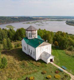 Храм Успения Пресвятой Богородицы в селе Успенка